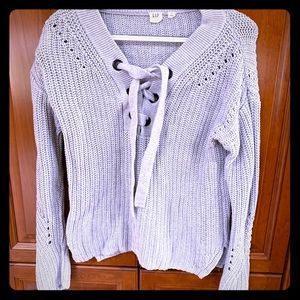 Gap Chunky Gray Sweater SZ S Excellent Condition